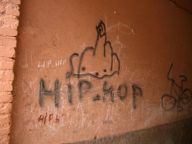 hip hop graffiti marrakesch