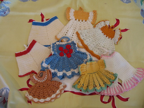 Dressed up Potholders