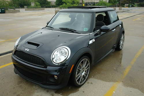 mf review r56 jcw sport suspension motoringfile. Black Bedroom Furniture Sets. Home Design Ideas