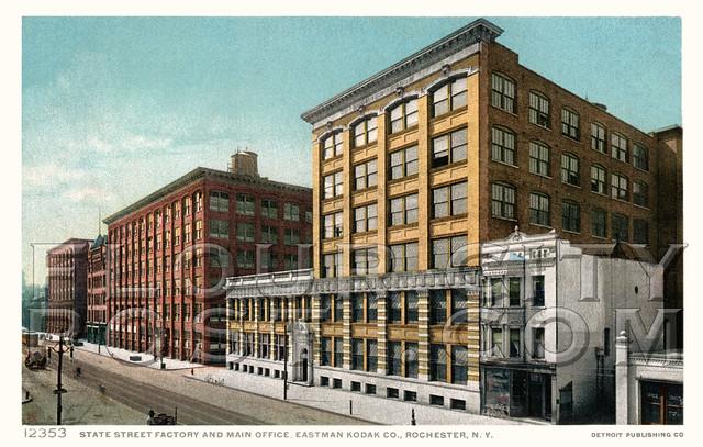 State Street Factory And Main Office Eastman Kodak Co