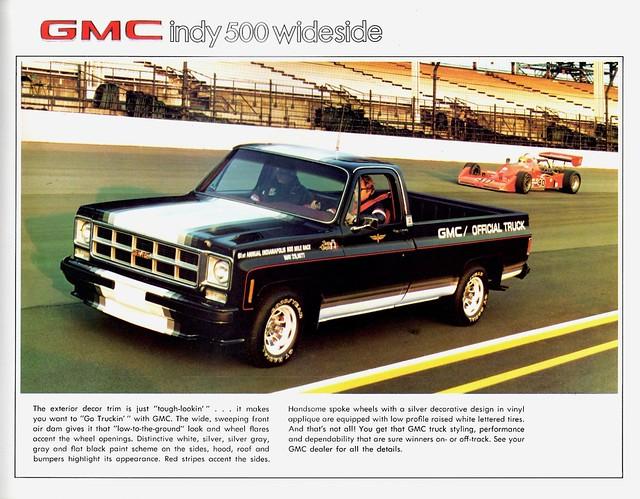 1977 gmc indy 500 wideside limited edition pickup flickr photo sharing. Black Bedroom Furniture Sets. Home Design Ideas