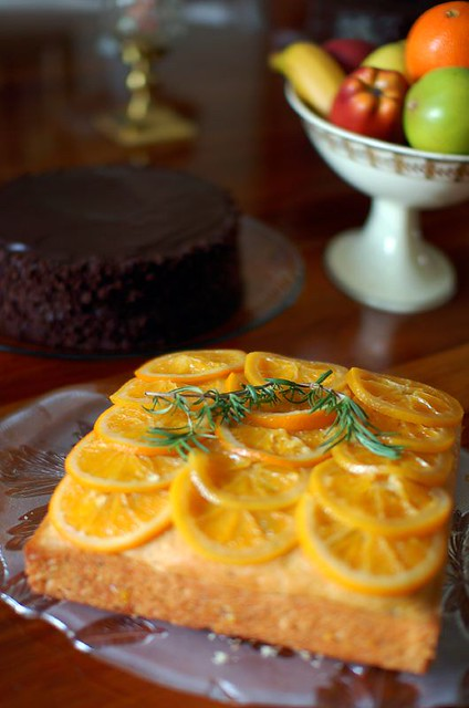 Babbo Rosemary and Olive Oil Cake with Sugared Orange | Flickr - Photo ...