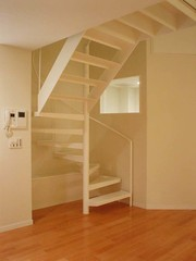 furniture(0.0), attic(0.0), floor(1.0), wall(1.0), wood(1.0), room(1.0), property(1.0), laminate flooring(1.0), ceiling(1.0), interior design(1.0), wood flooring(1.0), hardwood(1.0), stairs(1.0), flooring(1.0),