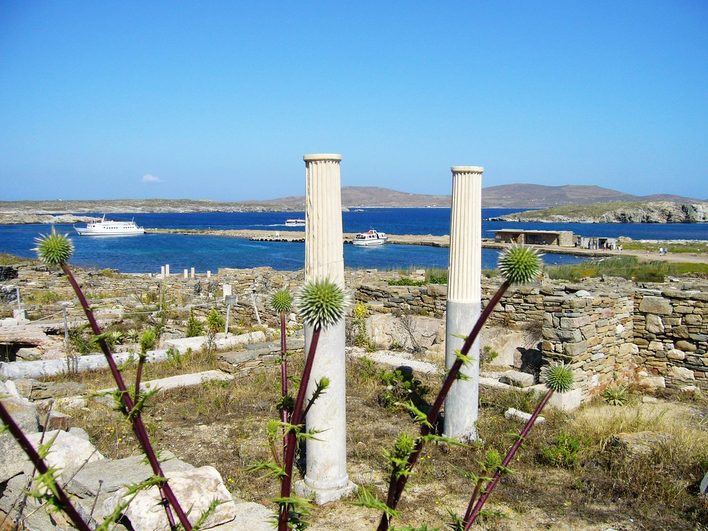 Delos Island, Greece