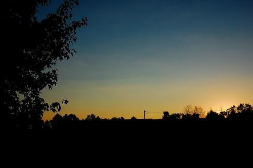 sunset ohio outdoors nikon d40