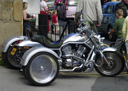 Harley-Davidson Trike Silver Machine