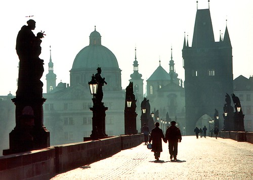 Czech Republic - Prague - Holding Hands