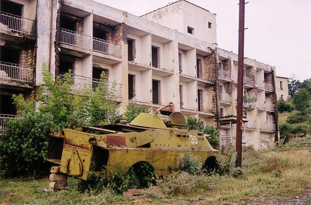 Tank in Shushi