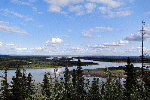 "Alaska, Tanana from the book ""Giorno per giorno, l'avventura"" by Walter Bonatti"