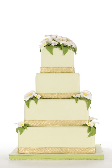 green and gold wedding cakes green and gold wedding cake flickr photo 14957