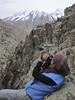 Researcher on the look out for snow leopards, India