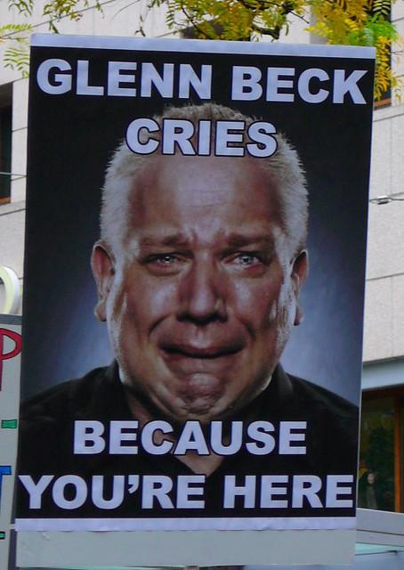 Glenn beck cries flickr photo sharing