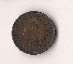 Indian Penny, 1894
