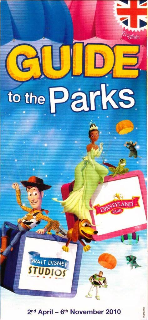 Disneyland Paris Park Guide 2010