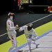 championnat du monde d'escrime 2010 - Finale de Fleuret par équipe Chine vs Italie 45 - 43 - Grand Palais - 11 novembre 2010 - Andrea CASSARA vs Sheng LEI by y.caradec