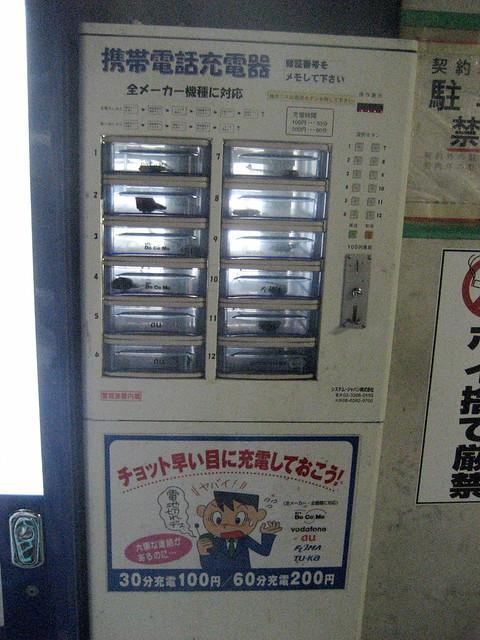 cell phone machine