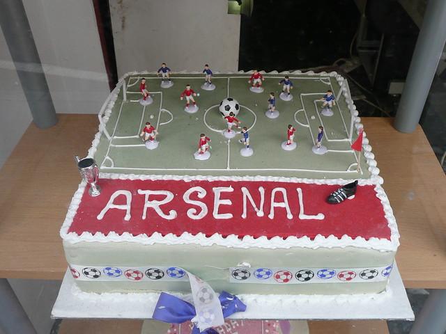 Arsenal Birthday Cakes At Tesco