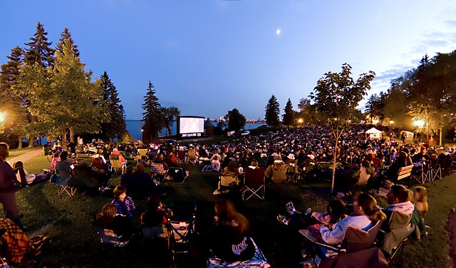 FREE Movies at Assiniboine Park Every Friday Night in August