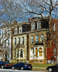 Row houses, Lafayette Square, St. Louis