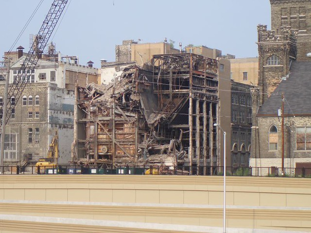Milwaukee Industry Pabst Brewery Demolition Flickr
