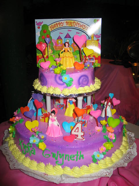 My Little Girls Birthday Cake