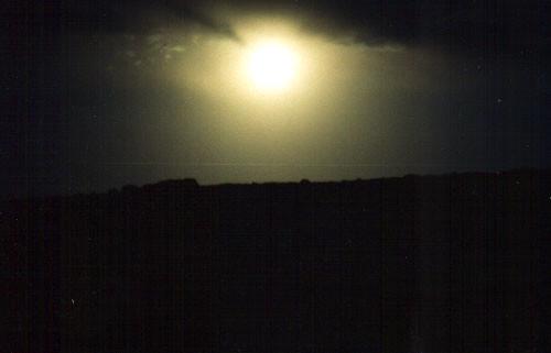 Moonrise, Chaco Canyon