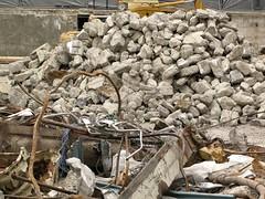 rubble, scrap, demolition, waste,