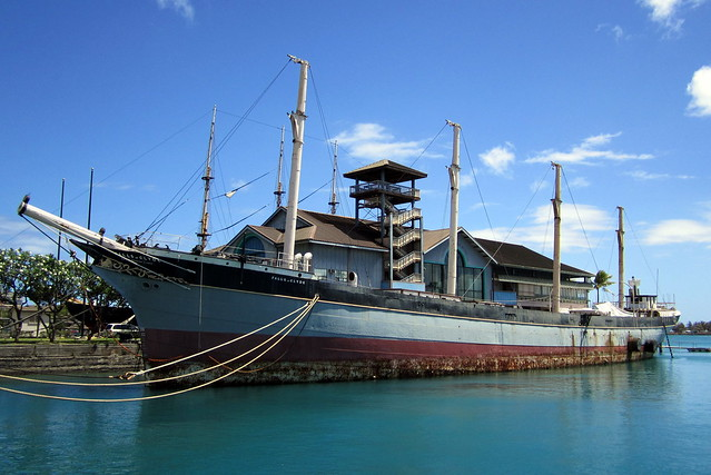 tall ship hawaii