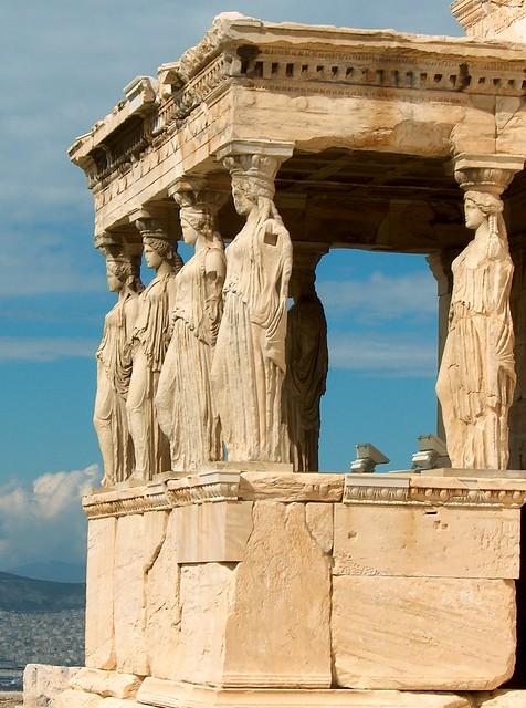 Cariátides de Atenas