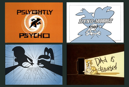 DEXTER'S LAB Title Cards