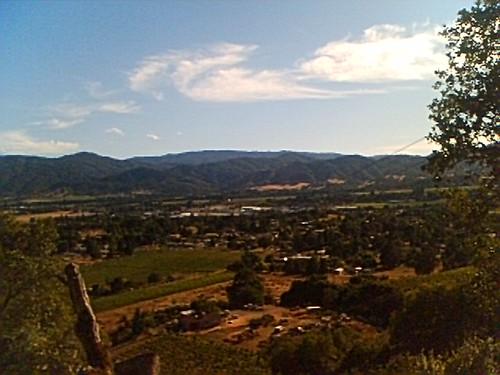 california mendocino norcal arial ukiah