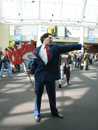 Phoenix Wright Cosplayer