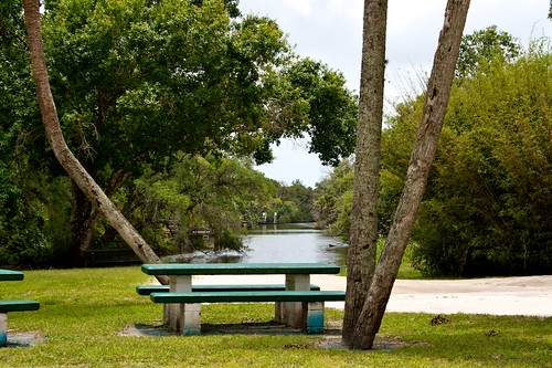 green water bench table picnic flickr seat seats whitecitypark ilobsterit