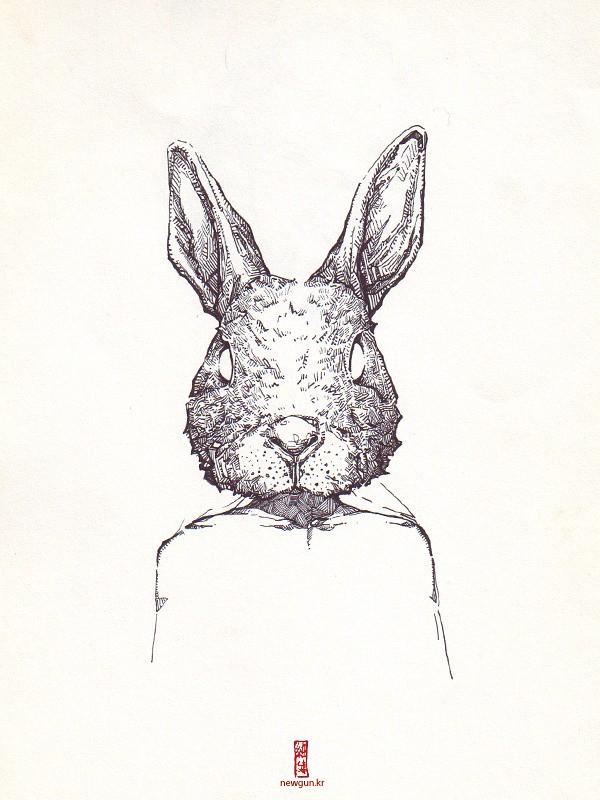 _human & rabbit