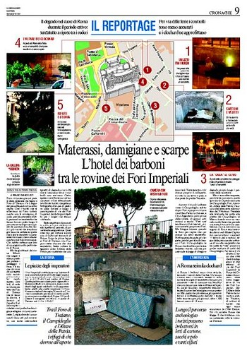 "Dear Minister Rutelli & Mayor Veltroni, Why is Rome becoming ""A Phony Rome for Lazy Tourists.""? The Imperial Fora - Who ultimately decides the Future for Rome's past: The Politicians or the Archaeologist? (Il Messaggero 28.08.2007 special report)."