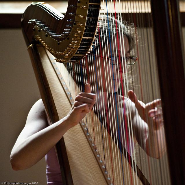 alice aubert fete de la musique 2010 alice aubert harp flickr photo sharing. Black Bedroom Furniture Sets. Home Design Ideas