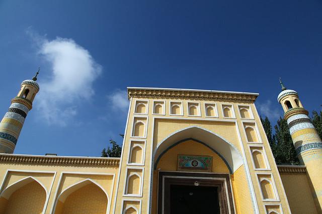 カシュガル旧市街、エイティガール寺院