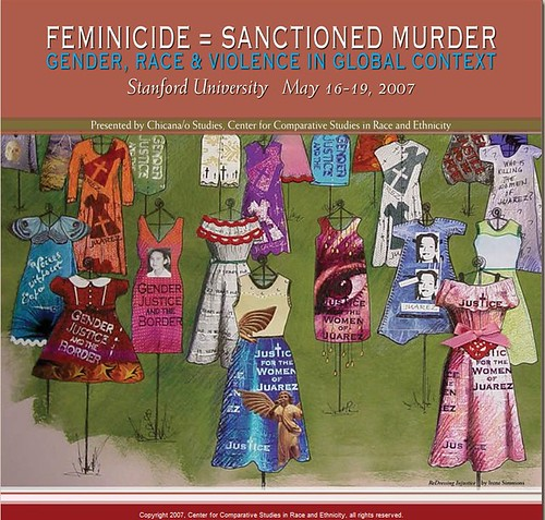 FEMINICIDE = SANCTIONED MURDER