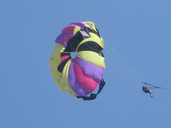 parachute, individual sports, sports, parasailing, windsports, extreme sport, water sport,