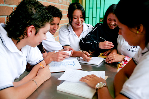 Students in a technical education program supported by the World Bank in Antioquia, Colombia. Photo: © Charlotte Kesl / World Bank