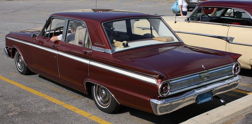1963 ford fairlane 500 4 door