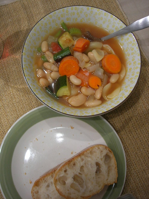 roasted vegetable minestrone | Flickr - Photo Sharing!