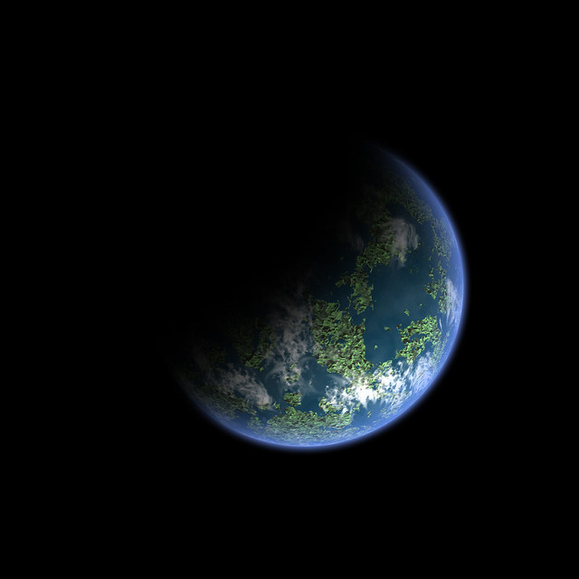Earth-like planet without stars | Flickr - Photo Sharing!