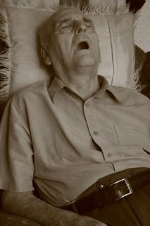 Snoring Old Man