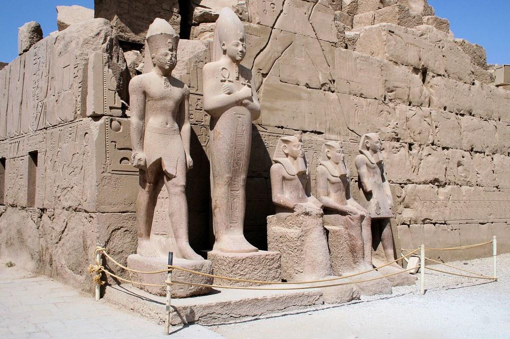 Templo de Karnak, Egipto. Foto: Son Of Groucho