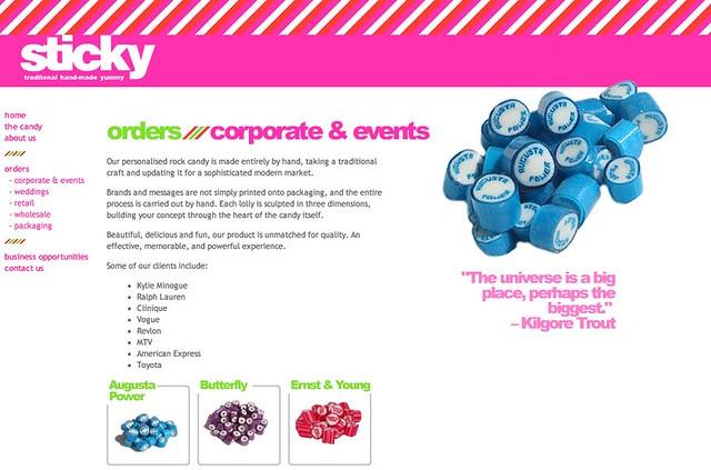 huge selection of e07c5 41019 sticky - wedding bomboniere, bonbonniere, corporate promot ...