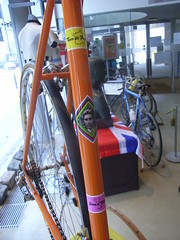 Eddy Merckx's bike