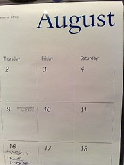 August...what a month