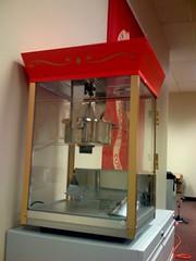 New Popcorn Machine
