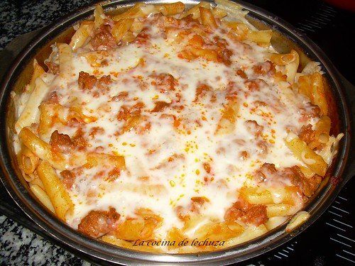 La cocina de lechuza recetas de cocina con fotos paso a - Macarrones con verduras al horno ...